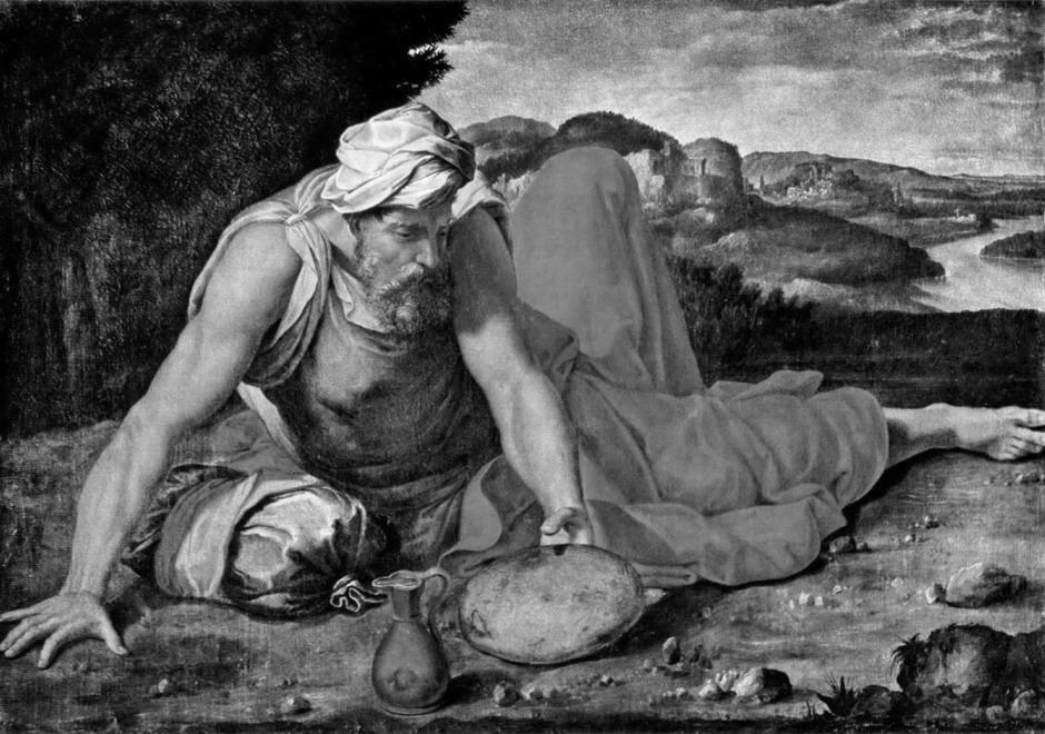 Daniele da Volterra: Illés próféta a Hóreb hegyen