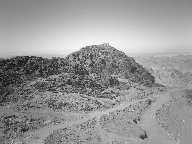 Mózes hegye, ahova Isten irányította Illést (Jebel Musa)